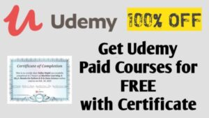 Udemy Paid Courses For Free With Certificate | Hurry Don't Miss | 19 April 2021